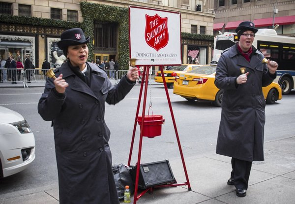 salvation army bell ringer iStock_000031715774_Large