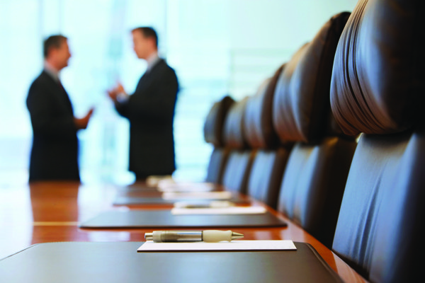 board room business taxes meeting